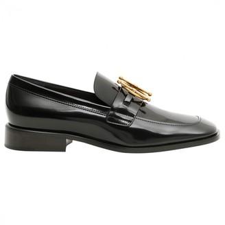 Christian Dior DiorDirection Black Leather Flats