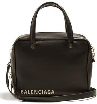 Balenciaga Triangle Square S Bag - Womens - Black White