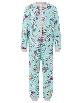 Monsoon Avery Jersey Sleepsuit