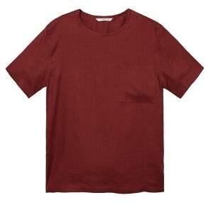 Mango man MANGO MAN Regular-fit linen short sleeve shirt