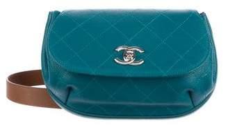 Chanel Spring 2017 Grained Calfskin Flap Bag