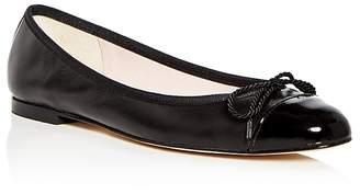 Paul Mayer Women's Love Leather Cap Toe Ballet Flats