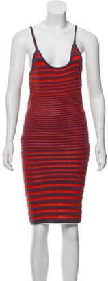 Alexander Wang Striped Sleeveless Dress