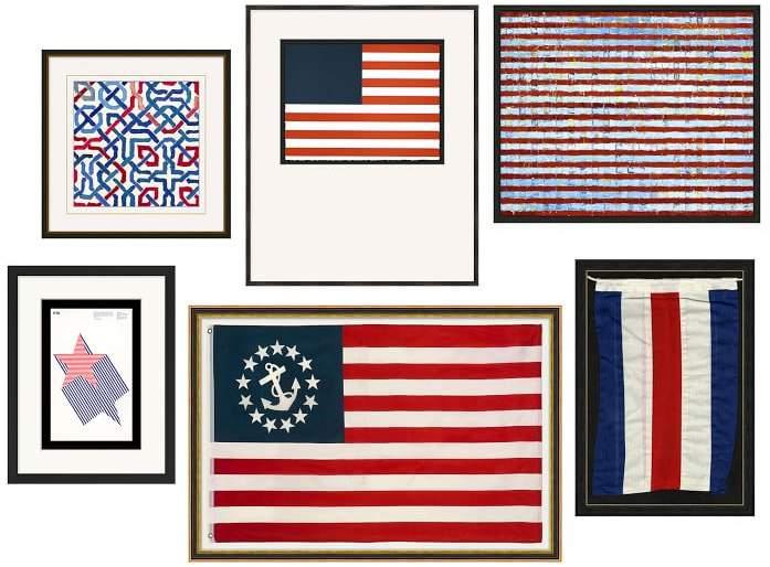 Americana Gallery Wall