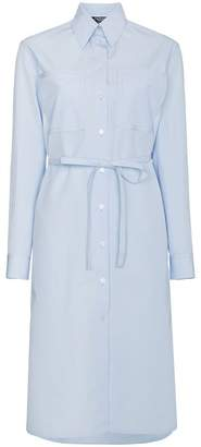 Calvin Klein Shirt dress with tie waist