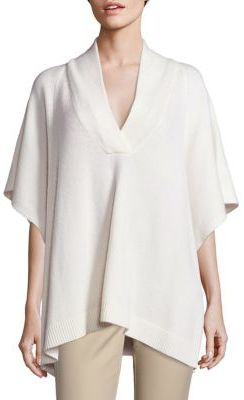 Vineyard Vines Wool & Cashmere Poncho $228 thestylecure.com