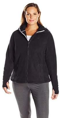 Champion Women's Plus Size Fleece Jacket with Hood