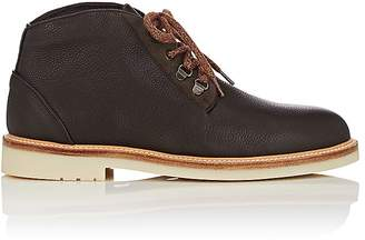 Loro Piana Men's Aspen Walk Leather Chukka Boots