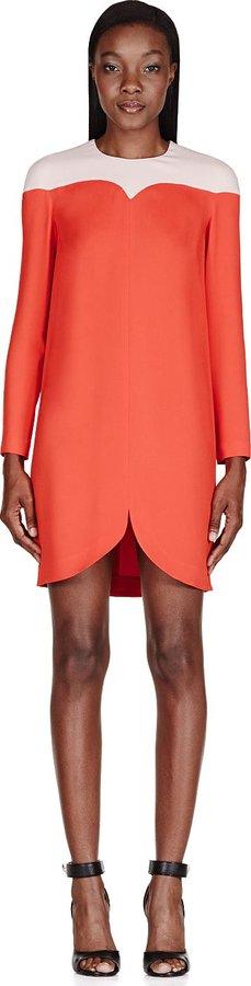 Stella McCartney Red Cut-Out Tunic Dress