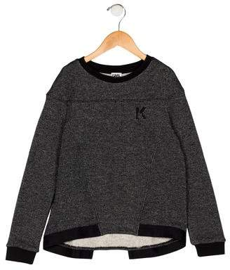 Karl Lagerfeld Boys' Crew Neck Sweatshirt