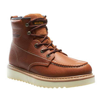 Wolverine Mens Work Wedge St Work Boots Steel Toe Lace-up