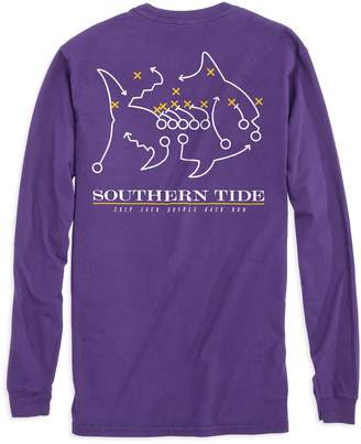 Southern Tide Skipjack Play Long Sleeve T-shirt - Louisiana State University