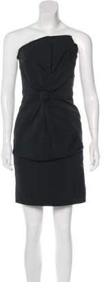Thakoon Strapless Mini Cocktail Dress