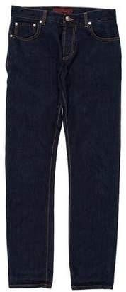 Isaia Self Edge Skinny Jeans
