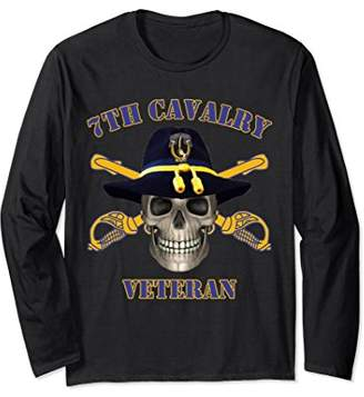7th Cavalry - Seventh Cavalry Vets Long Sleeve T-shirt