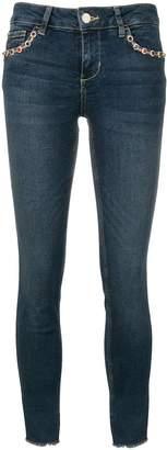 Liu Jo jewelled skinny cropped jeans