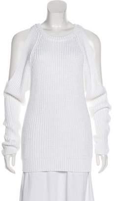 MICHAEL Michael Kors Cold Shoulder Knit Sweater