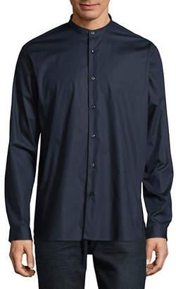 HUGO Button-Down Mandarin-Collar Dress Shirt