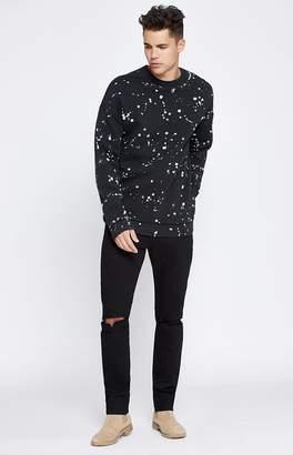 PacSun Skinny Comfort Stretch Destroy Black Jeans