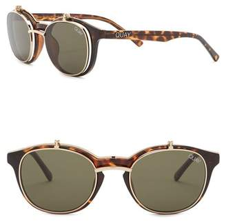 Quay Penny Royal Double Frame Sunglasses