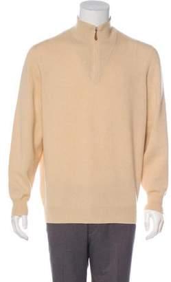 Brunello Cucinelli Cashmere Half-Zip Sweater Cashmere Half-Zip Sweater
