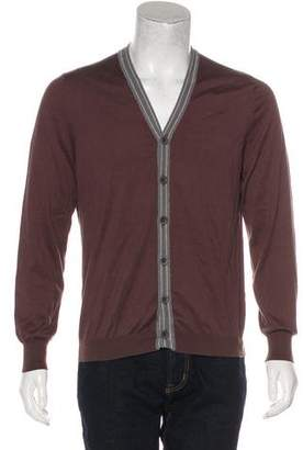 Brunello Cucinelli Knit V-Neck Cardigan