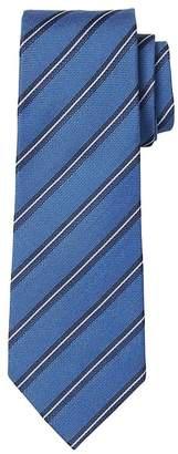Banana Republic Striped Silk-Wool Nanotex® Tie