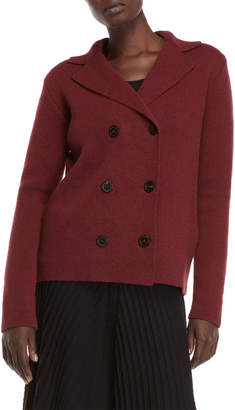 Roberto Collina Double-Breasted Wool Jacket