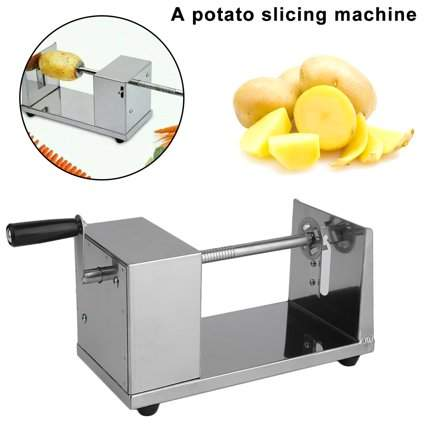 APPRECIATE Useful Cutter Slicer for Fruits, Handheld Vegetable Carrot Blade Potato Crinkle Wavy Cutter Slicer, Potato Slicing Machine Home Kitchen Accessories Tools