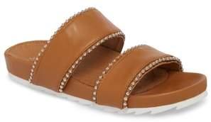J/Slides Emmie Bead Chain Slide Sandal
