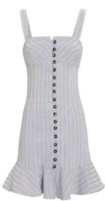 Intermix Beverly Striped Button-Down Dress