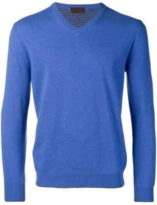 Altea fine knit V-neck sweater