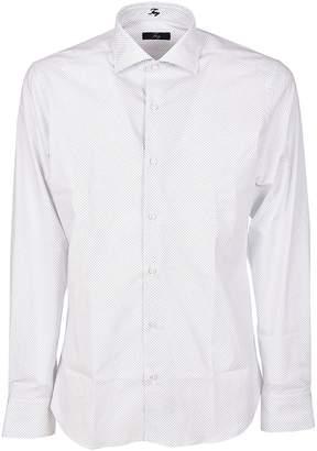 Fay Diamond Pattern Shirt