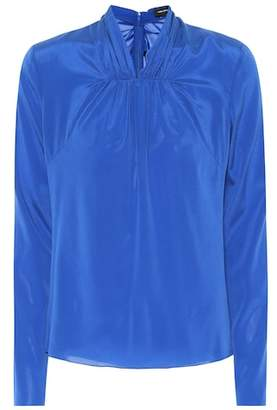 Isabel Marant Wanden stretch silk blouse