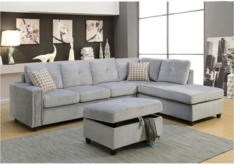 ACME Furniture Acme Belville Ottoman