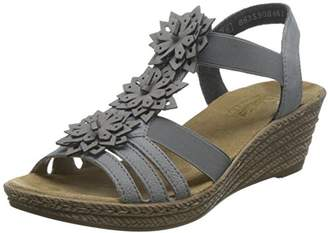 d4b7c295be7c Grey Heeled Sandals For Women - ShopStyle UK