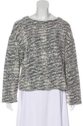 Billy Reid Tweed Long Sleeve Sweater