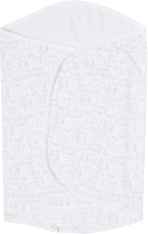 Tu Clothing White Unisex Jersey Swaddle