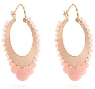 Irene Neuwirth Opal & Rose Gold Earrings - Womens - Pink