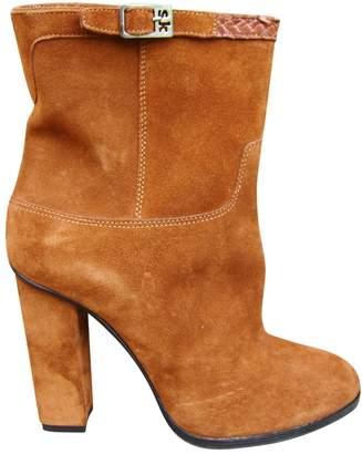 Stephane Kelian Brown Suede Boots