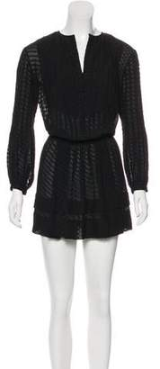 Derek Lam Long Sleeve Mini Dress