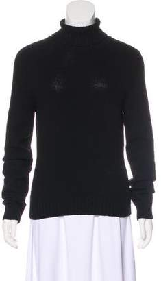 Dolce & Gabbana Wool-Blend Turtleneck Sweater
