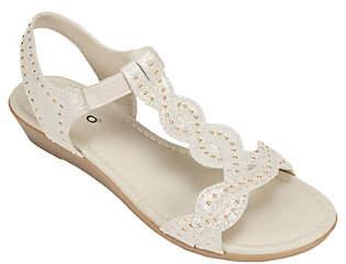 Rialto T-strap Wedge Sandals - Gemma