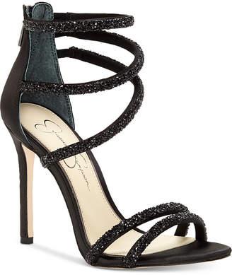 Jessica Simpson Jamalee Gemstone Evening Sandals Women's Shoes