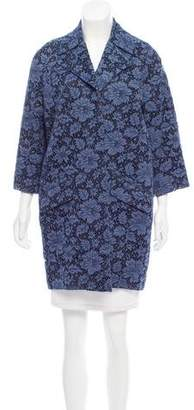 ADAM by Adam Lippes Open-Front Lace Jacket