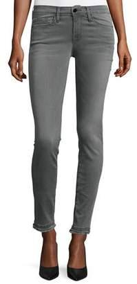 FRAME Le Skinny de Jeanne Double Raw-Hem Jeans, Marview $239 thestylecure.com