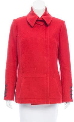Narciso Rodriguez Wool Structured Jacket