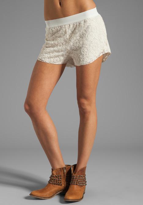SAM&LAVI Blanche Lace Shorts