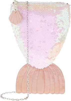 Monsoon Mermaid Tail Reversible Sequin Bag