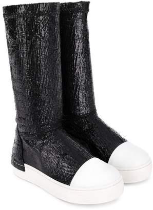 Cinzia Araia Kids Softy knee boots